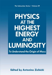 Cover Physics at the Highest Energy and Luminosity