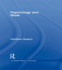 Cover Psychology and Work