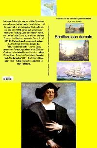 Cover Schiffsreisen damals - Reiseberichte etlicher Forscher und Autoren