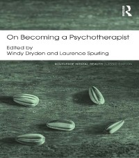 Cover On Becoming a Psychotherapist