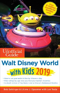 Cover Unofficial Guide to Walt Disney World with Kids 2019