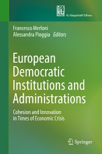 Cover European Democratic Institutions and Administrations