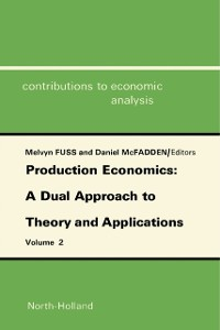 Cover Production Economics: A Dual Approach to Theory and Applications