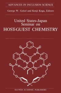 Cover United States-Japan Seminar on Host-Guest Chemistry