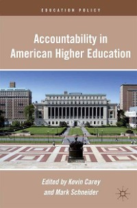 Cover Accountability in American Higher Education