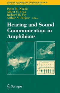 Cover Hearing and Sound Communication in Amphibians