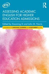 Cover Assessing Academic English for Higher Education Admissions