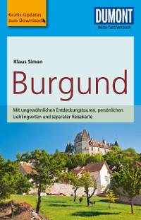 Cover DuMont Reise-Taschenbuch Reiseführer Burgund