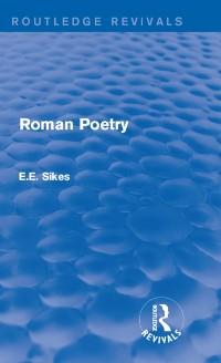 Cover Roman Poetry
