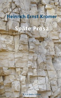 Cover Späte Prosa