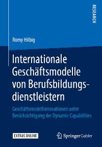 Cover Internationale Geschäftsmodelle von Berufsbildungsdienstleistern