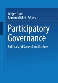 Cover Participatory Governance