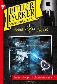 Cover Butler Parker 216 – Kriminalroman