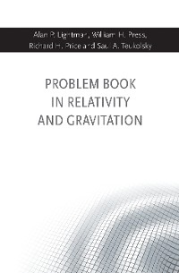 Cover Problem Book in Relativity and Gravitation