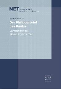 Cover Der Philipperbrief des Paulus