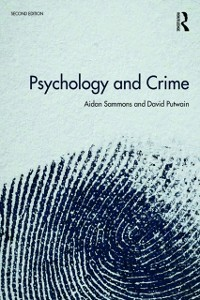 Cover Psychology and Crime