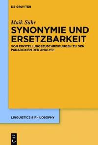 Cover Synonymie und Ersetzbarkeit