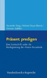 Cover Präsent predigen