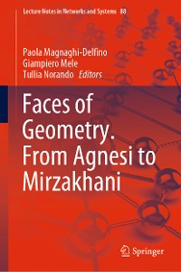 Cover Faces of Geometry. From Agnesi to Mirzakhani