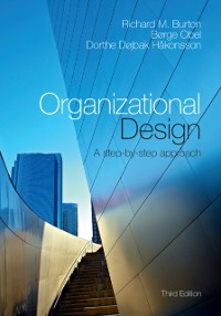 Cover Organizational Design