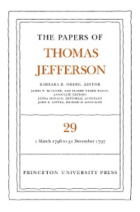 Cover The Papers of Thomas Jefferson, Volume 29