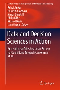 Cover Data and Decision Sciences in Action