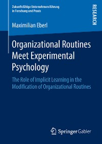 Cover Organizational Routines Meet Experimental Psychology