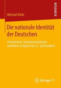 Cover Die nationale Identität der Deutschen