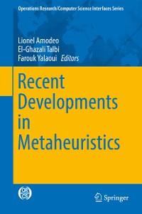 Cover Recent Developments in Metaheuristics