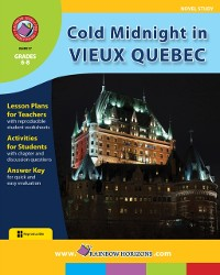 Cover Cold Midnight In Vieux Quebec (Novel Study) Gr. 6-8