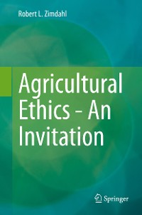 Cover Agricultural Ethics - An Invitation
