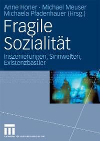 Cover Fragile Sozialität