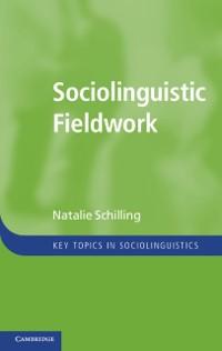 Cover Sociolinguistic Fieldwork