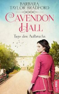 Cover Cavendon Hall - Tage des Aufbruchs