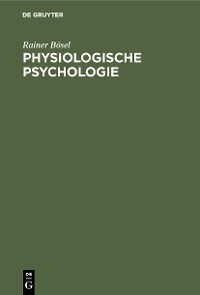Cover Physiologische Psychologie