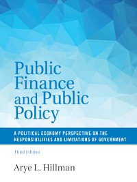 Cover Public Finance and Public Policy
