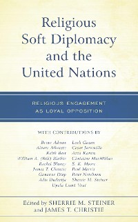 Cover Religious Soft Diplomacy and the United Nations