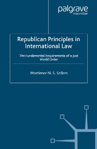 Cover Republican Principles in International Law