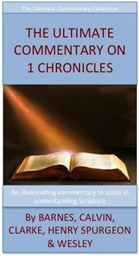 Cover The Ultimate Commentary On 1 Chronicles