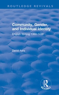 Cover Routledge Revivals: Community, Gender, and Individual Identity (1988)