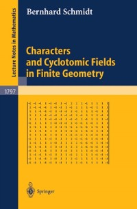 Cover Characters and Cyclotomic Fields in Finite Geometry