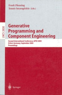 Cover Generative Programming and Component Engineering