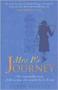 Cover Mrs P's Journey