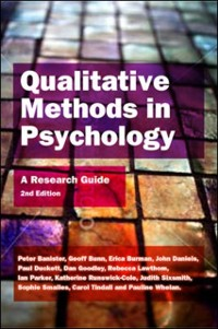 Cover EBOOK: Qualitative Methods In Psychology: A Research Guide
