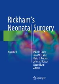 Cover Rickham's Neonatal Surgery