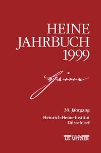 Cover HEINE-JAHRBUCH 1999