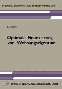 Cover Optimale Finanzierung von Wohnungseigentum