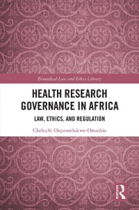 Cover Health Research Governance in Africa