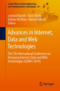 Cover Advances in Internet, Data and Web Technologies