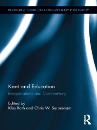 Cover Kant and Education